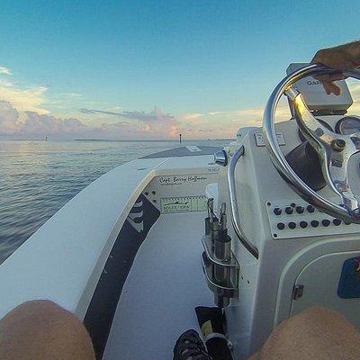 sunrise on Florida Bay