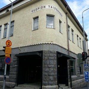Entry to Kuopio art museum