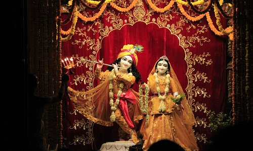 ISKCON Pune, evening darshan