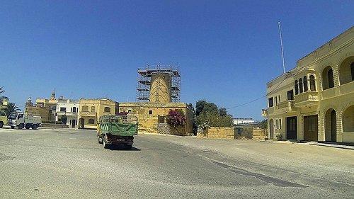 Ta' Kola Windmill from street