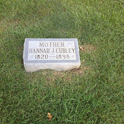 Grave marker.