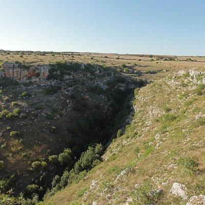 imbocco della grotta del pulo