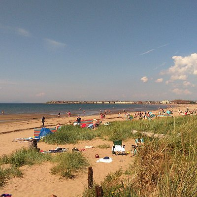 Troon beach