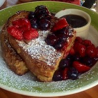 Yummy French Toast and Berry compote