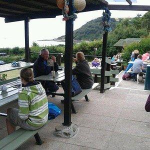 Cafe at Talland Bay