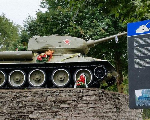 WW2 Russian T34 tank