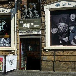 The Beatles Shop, Liverpool