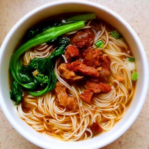 red-cooked beef noodle