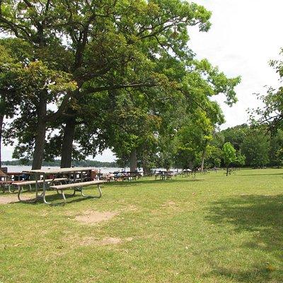 Nice beach/picnic area
