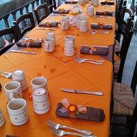 Preparazione  tavola