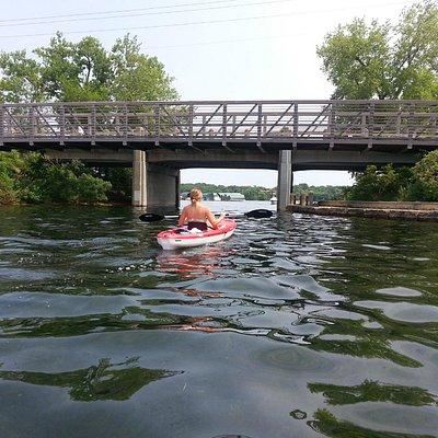 Kayak and Paddleboard Rentals at Tommy's Tonka Trolley