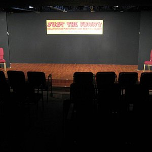 View of Just The Funny Theater & Training Center from the audience