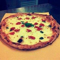 pizza Mediterranea.