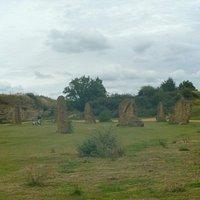 Ham Hill's version of Stonehenge !!