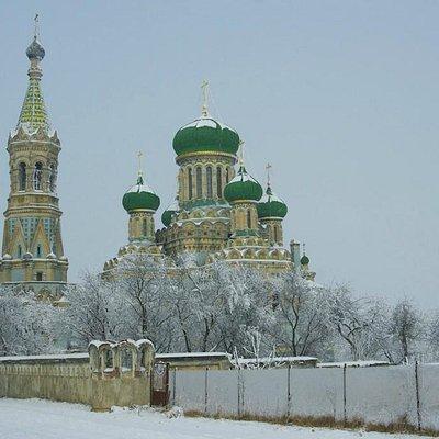 Bila Krynytsya: the old-believers' Assumption Cathedral