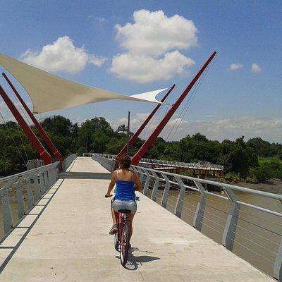 Bridge to Isla Santay