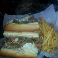 Cheesesteak and fires combo