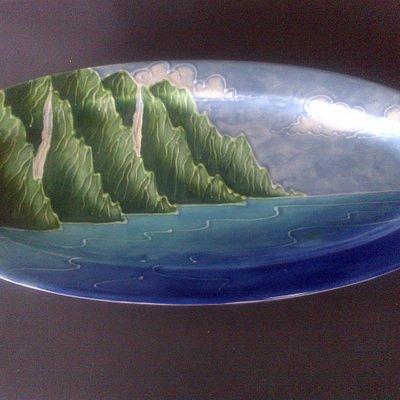 Platter made by local artist