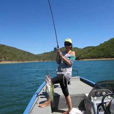 Pesca ao achigã