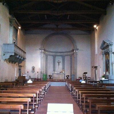 Interno della Pieve Di San Martino a Gangalandi