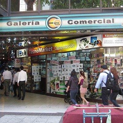 Galeria Comercial EuroCentro - Entrance