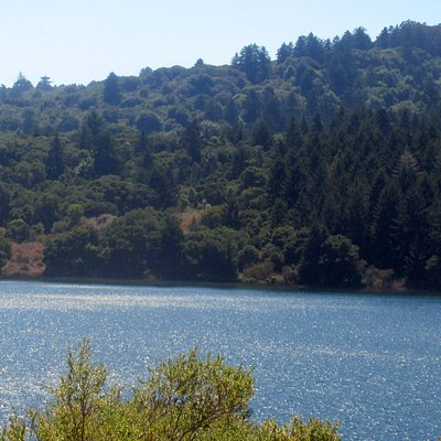 Crystal Springs Reservoir on the Peninsula, San Mateo, CA