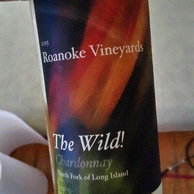 A bottle from Roanoke Vineyards