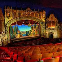 View from the balcony of the historic Marion Palace Theatre