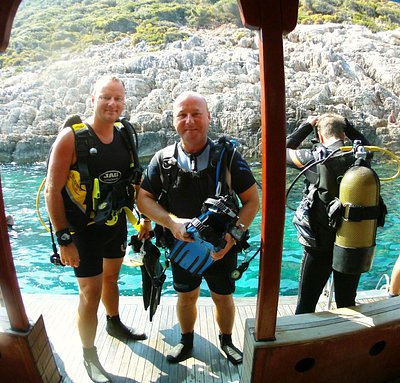 Just before the Tunnel Dive