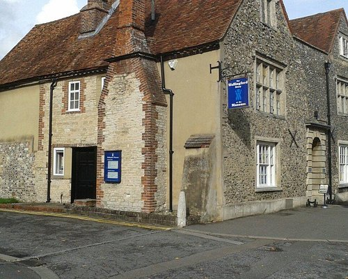 Wallingford museum sits opposite the Kinecroft - the town green dating back to Saxon times.