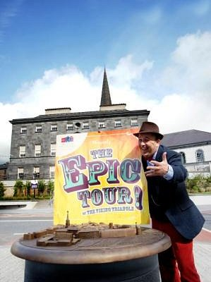 Travel through time on the Epic Tour of Waterford City.