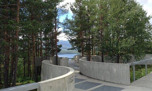 Strømsbu Rasteplass ved Rondane Nasjonalpark