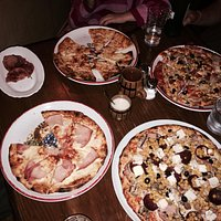 Great pizzas!