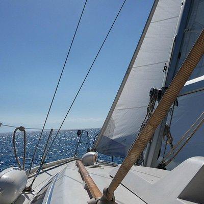 AreionSail sails!
