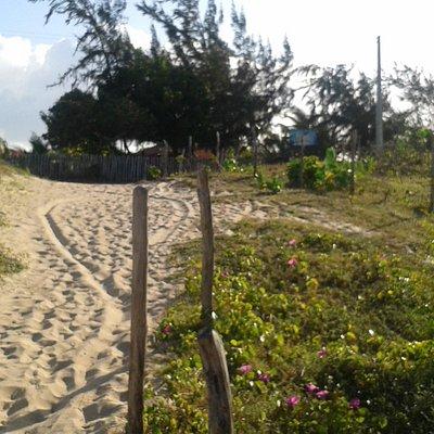 descida da praia