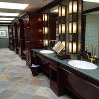 Best bathrooms ever.