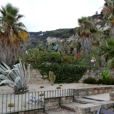 Cactus park in Barcelona - Mossen Costa i Llobera Gardens