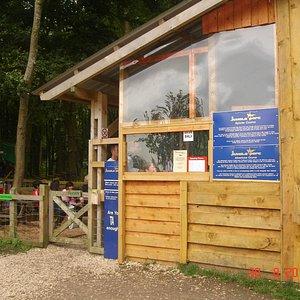 Jungle Parc entrance.