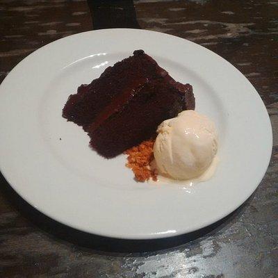 Five Layer Chocolate Cake