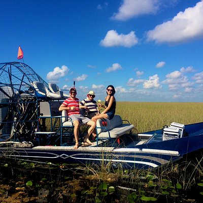 Relaxing in the Everglades River of Grass. Our captains are always willing to get you the best p