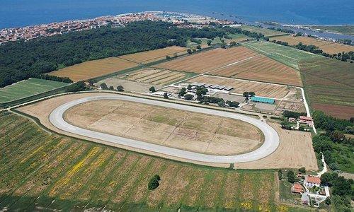 Panoramica del Centro Ippico Boccadarno