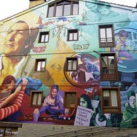 Mural: La luz de la esperanza