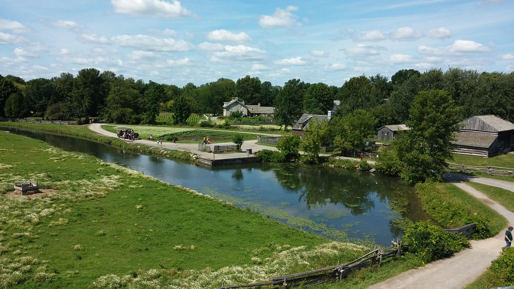 Upper Canada Village from The Sentinel