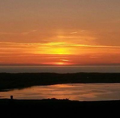 Sunset over Northam Burrows Country Park