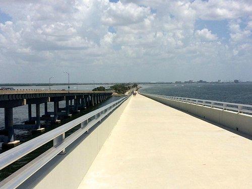 Courtney Campbell Trail bridge