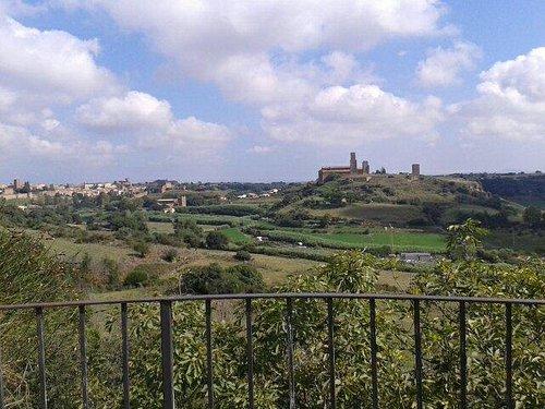 Panorama su tuscania