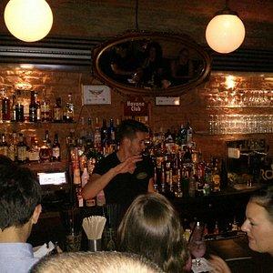 Kind and fast barman