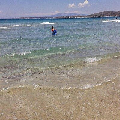 Pırlanta plajinin berrak suyu