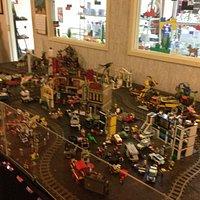 Even a Lego train!
