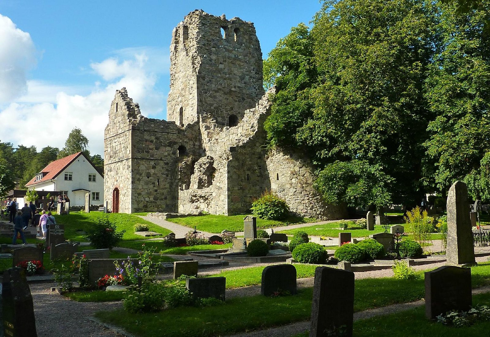St Olof's Church ruins